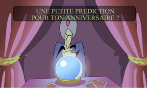 Une prédiction !