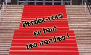 RDV en haut des marches !
