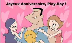 Bon anniversaire Play-Boy !