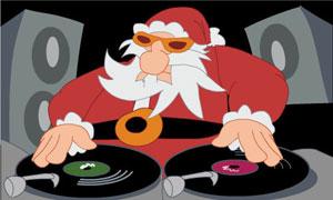 Père Noël rappeur