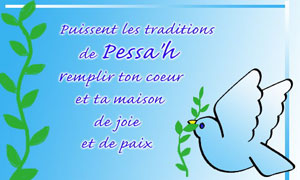 Les traditions de Pessah