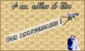 4 ans - Cire