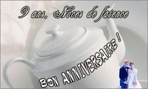9 ans - Faïence