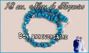 18 ans - Turquoise