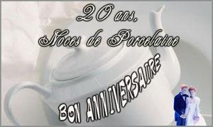 20 ans - Porcelaine