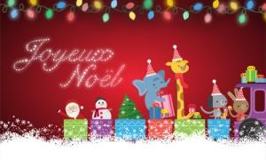 La parade des animaux de Noël