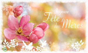 Poème fleuri pour la fête des mères