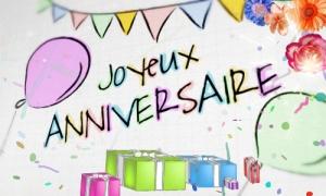 Amour, bonheur et sucrerie pour son anniversaire