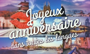 Un anniversaire international !