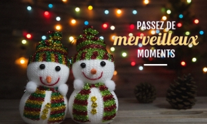 Merveilleux moments de Noël