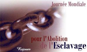 Pour l'abolition de l'esclavage