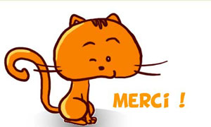 Un merci chat-oyant !