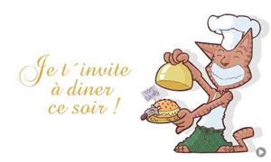 Invitation à diner