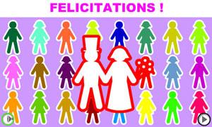 Félicitations !