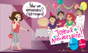 Anniversaire surprise?