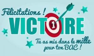 Félicitations pour ton BAC !