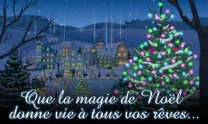 La magie de Noël donne vie aux rêves