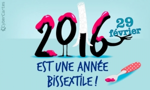 2016 année bigouden, biscotte, mais surtout Bissextile