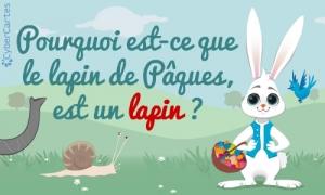 Pourquoi le lapin de Pâques