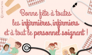 Vive les infirmières, infirmiers et tout le personnel soignant !