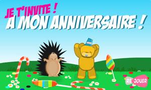 Cartes Invitation Anniversaire Gratuites Cybercartes Com
