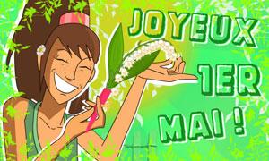 Du muguet de la joie et du bonheur