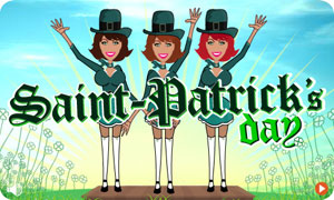 Les danseuses irlandaises