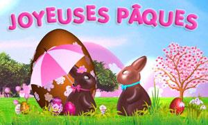 Joyeuses Pâques mon lapin