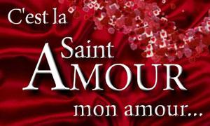 C'est la saint Amour !