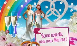 Vive le mariage pour toutes !