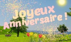 Un anniversaire fleuri et poétique