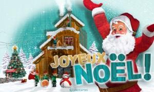 La maison du Père Noël et des lutins