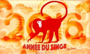 Nouvel an Chinois : Singe de feu