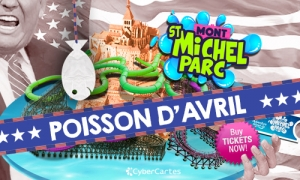 Le mont St Michel, en parc d'attraction ?!