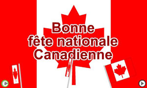 Bonne fête nationale canadienne