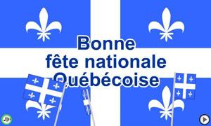 Bonne fête nationale québécoise