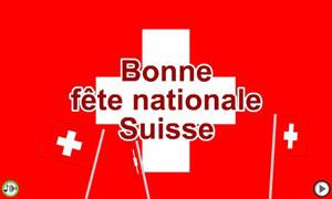 Bonne fête nationale suisse