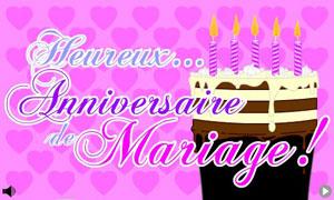 Cartes Anniversaire Mariage Gratuites Cybercartes Com