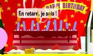 Bon anniversaire en retard
