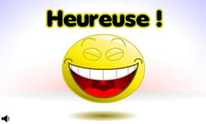 Smiley - Heureuse
