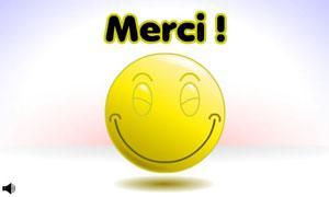Smiley - Remerciements