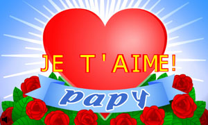 Je t'aime papy