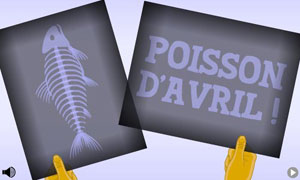 Radiographie poisson d'avril