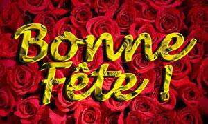 Des milliers de fleurs pour ta fête