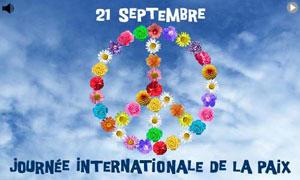 Journée Int. pour la Paix