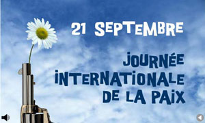 Journée Int. de la Paix