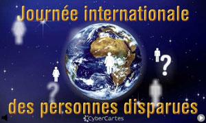 Journ. Inter. des personnes disparues