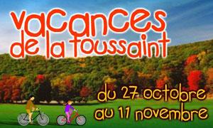 Les vacances de la Toussaint