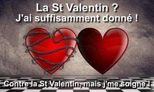 Contre la St Valentin