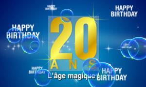 20 ans, l'âge magique